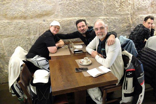 retrouvailles avec Cathy et Alain - l'autre ailleurs à Porto, une autre idée du voyage