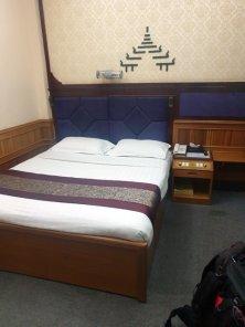 Ma chambre à Mandalay, dans l'hôtel Palace Hotel - l'autre ailleurs au Myanmar (Birmanie) et Thaïlande, une autre idée du voyage