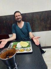mon déjeuner de midi (180 Roupies soit 0,90 €) - l'autre ailleurs au Sri-Lanka, une autre idée du voyage