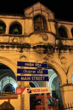 la rue principale à Colombo - l'autre ailleurs au Sri-Lanka, une autre idée du voyage