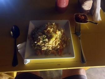 dîner kottu au café Hula Hula à Galle - l'autre ailleurs au Sri-Lanka, une autre idée du voyage