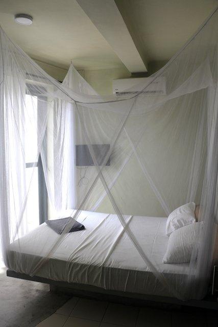 """ma chambre d'hôtel, """"Secret Garden Fort"""", dans la partie vieille ville de Galle - l'autre ailleurs au Sri-Lanka, une autre idée du voyage"""