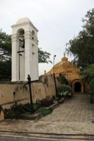 église dans la partie vieille ville de Galle - l'autre ailleurs au Sri-Lanka, une autre idée du voyage