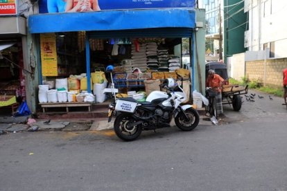 dans le rues de la partie ville moderne de Galle - l'autre ailleurs au Sri-Lanka, une autre idée du voyage