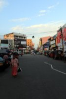 dans les rues de la partie ville moderne de Galle - l'autre ailleurs au Sri-Lanka, une autre idée du voyage