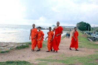 sur les fortifications dans la partie de la vieille ville de Galle - l'autre ailleurs au Sri-Lanka, une autre idée du voyage