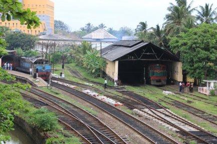 la gare de Galle - l'autre ailleurs au Sri-Lanka, une autre idée du voyage