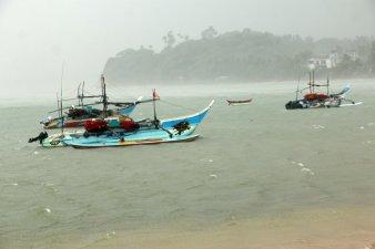 bateau de pêche à Mirissa - l'autre ailleurs au Sri-Lanka, une autre idée du voyage