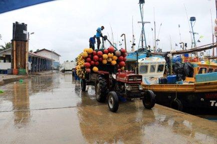 sur le port des marins pêcheurs de Mirissa - l'autre ailleurs au Sri-Lanka, une autre idée du voyage