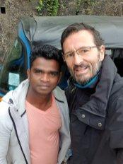 mon chauffeur de tuc-tuc qui me dépose à la gare de Nuna Oya - l'autre ailleurs au Sri-Lanka, une autre idée du voyage