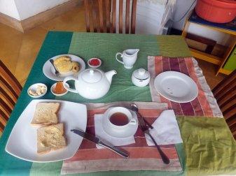 petit déjeuner dans l'hôtel d'Ella - l'autre ailleurs au Sri-Lanka, une autre idée du voyage