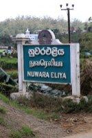 à l'entée de la ville de Nuwara Elyia - l'autre ailleurs au Sri-Lanka, une autre idée du voyage