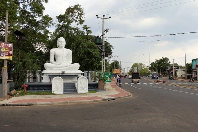 entrée de la ville de Polonnâruvâ - l'autre ailleurs au Sri-Lanka, une autre idée du voyage