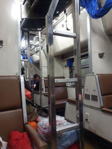 train de nuit de Chiang Mai à Bangkok - l'autre ailleurs au Myanmar (Birmanie) et Thaïlande, une autre idée du voyage