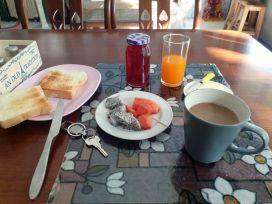 petit déjeuner à l'hôtel Santo House à Bangkok - l'autre ailleurs au Myanmar (Birmanie) et Thaïlande, une autre idée du voyage