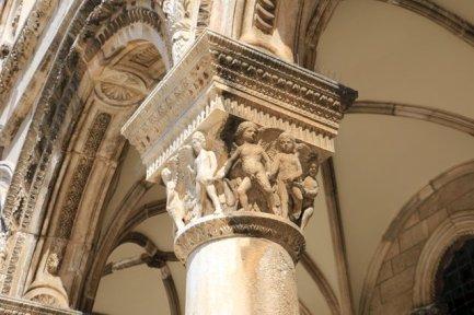 détails du palais du recteur de Dubrovnik - l'autre ailleurs en Croatie, une autre idée du voyage