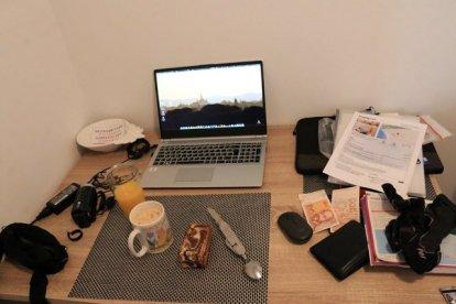 dans mon chambre/appartement à Dubrovnik (Studio Apartment Nukic) - l'autre ailleurs en Croatie, une autre idée du voyage