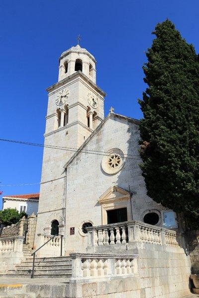 église Saint-Nicolas à Cavtat - l'autre ailleurs en Croatie, une autre idée du voyage