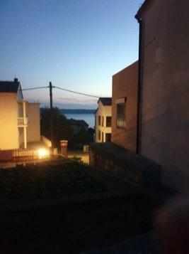 la vue depuis Apartman Marijan, mon appartement à Starigrad près du parc national de Paklenica - l'autre ailleurs en Croatie, une autre idée du voyage