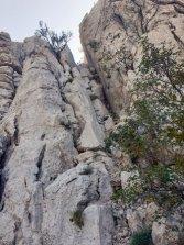 un passage délicat (pour moi) dans le parc national de Paklenica - l'autre ailleurs en Croatie, une autre idée du voyage