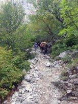 dans le parc national de Paklenica - l'autre ailleurs en Croatie, une autre idée du voyage
