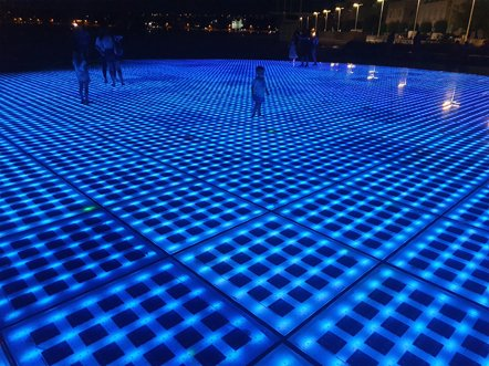 jeux de lumières à Zadar - l'autre ailleurs en Croatie, une autre idée du voyage
