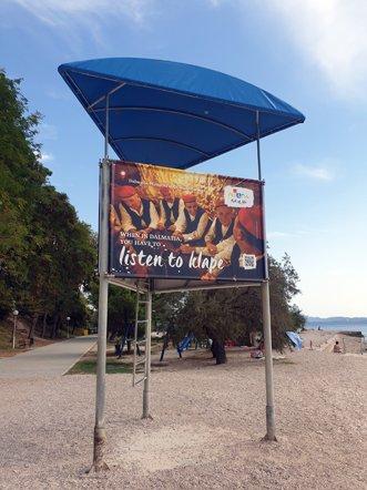 une plage à Zadar - l'autre ailleurs en Croatie, une autre idée du voyage