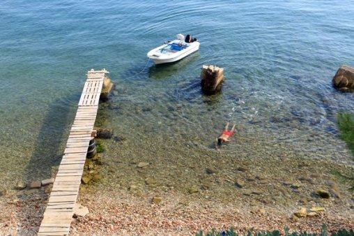 petite crique à Zadar - l'autre ailleurs en Croatie, une autre idée du voyage