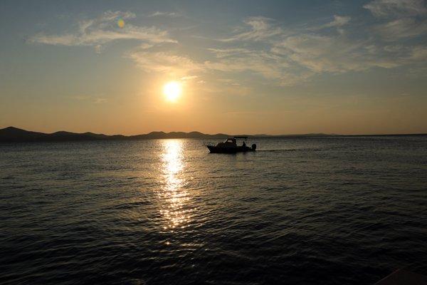 coucher de soleil à Zadar - l'autre ailleurs en Croatie, une autre idée du voyage