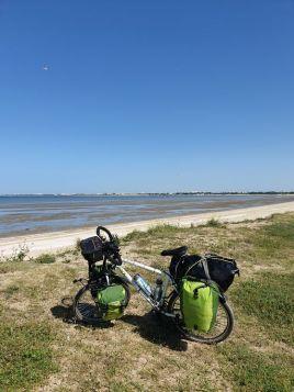 près de la plage de Aytré (17) tout proche de La Rochelle (17) - l'autre ailleurs en Vélo, une autre idée du voyage (www.autre-ailleurs.fr)