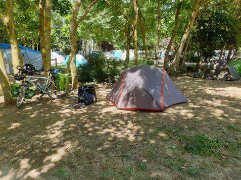 """au camping municipal """"Le Soleil"""" de La Rochelle (17) - l'autre ailleurs en Vélo, une autre idée du voyage (www.autre-ailleurs.fr)"""
