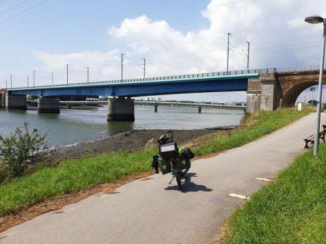 mon arrivée sur Lorient (56) - l'autre ailleurs en Vélo, une autre idée du voyage (www.autre-ailleurs.fr)