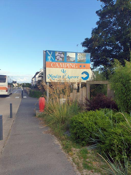 """mon camping : """"Le Moulin d'Aurore"""" , Concarneau (29) - l'autre ailleurs en Vélo, une autre idée du voyage (www.autre-ailleurs.fr)"""