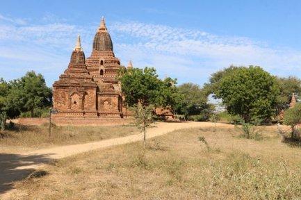 Temple sur le site de Bagan - l'autre ailleurs au Myanmar (Birmanie) et Thaïlande, une autre idée du voyage