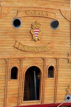 La proue d'un bateau dans le port de Dubrovnik - l'autre ailleurs en Croatie, une autre idée du voyage