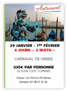 Séjour du 29 janvier au 1er février 4 Jours/3 Nuits, tous compris. 335€ Les Pennes Autrement