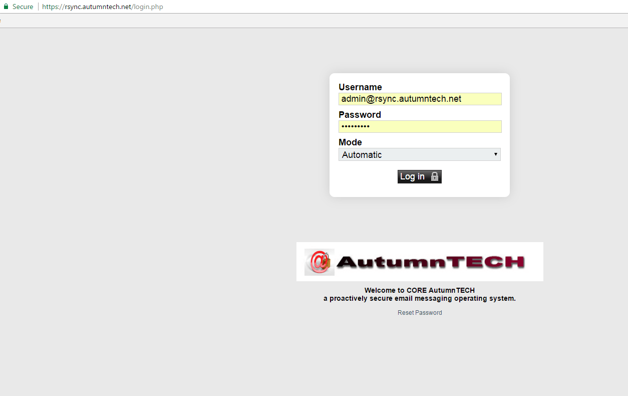 AutumnTECH - CORE AutumnTECH a proactively secure email server