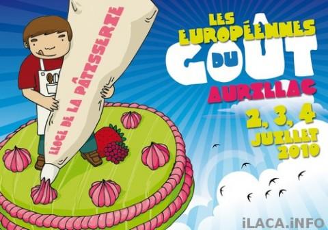 Europeennes du goût 2010 à Aurillac