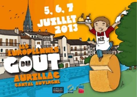 Europénnes du goût 2013 à Aurillac
