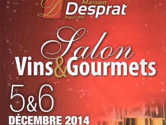 Salons des vinset gourmets à Aurillac 2014