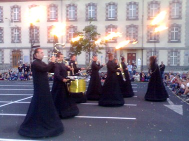 Photo du Snob, festival de théatre de rue Aurillac 2007