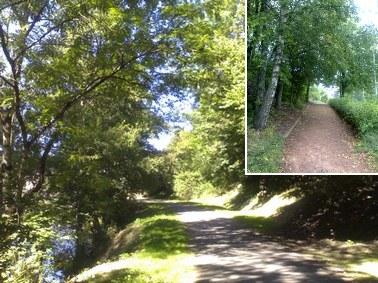 Ronde des quartiers, promenade autour d'Aurillac, Cantal