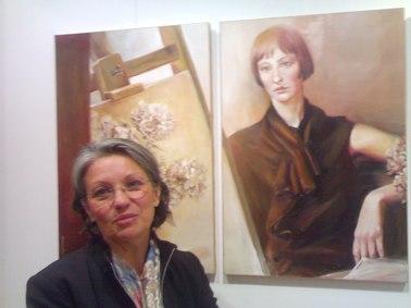 Syvie Desmoulin, exposition galerie Clac à Aurillac, Cantal, Photo