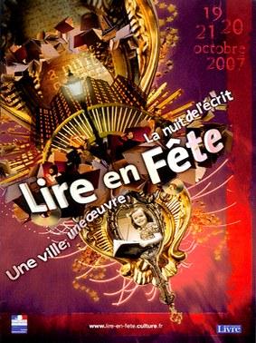 Lire en fête, un lieu, une ville, Aurillac, Cantal Auvergne