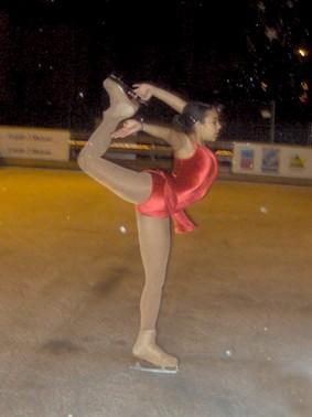 Patinoire, danseuse, artistique, patin à glace Aurillac