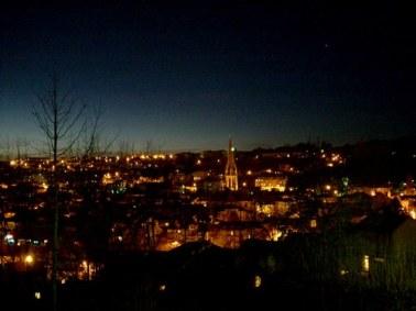 Aurillac, la nuit, Cantal