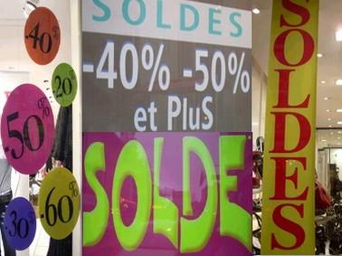 Soldes, Aurillac, Cantal, Auvergne
