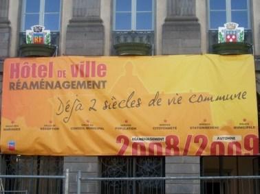 Hôtel de ville Aurillac, Cantal