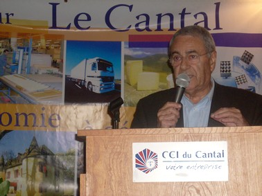 Bernard Bouniol, CCI du Cantal