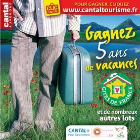 Cantal Tourisme, le jeu